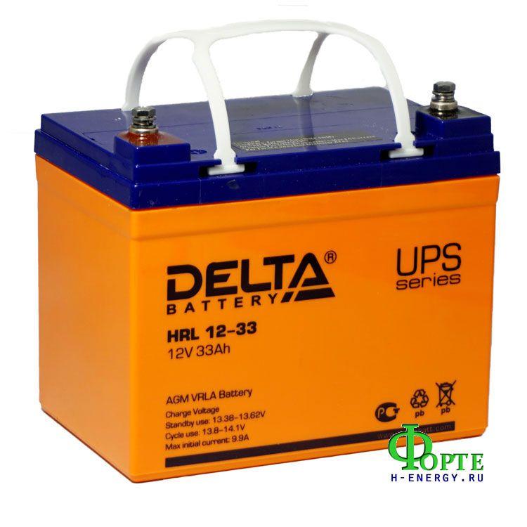 Аккумулятор для ИБП Delta HRL 12-33