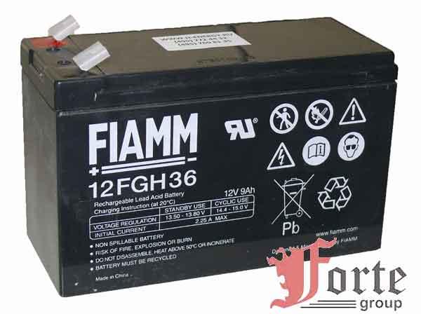 Аккумуляторы для ИБП FIAMM 12FGH36