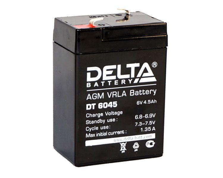 Аккумулятор Delta DT 6045