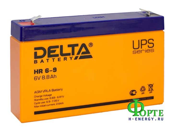 Аккумулятор для детской машинки Delta HR 6-9