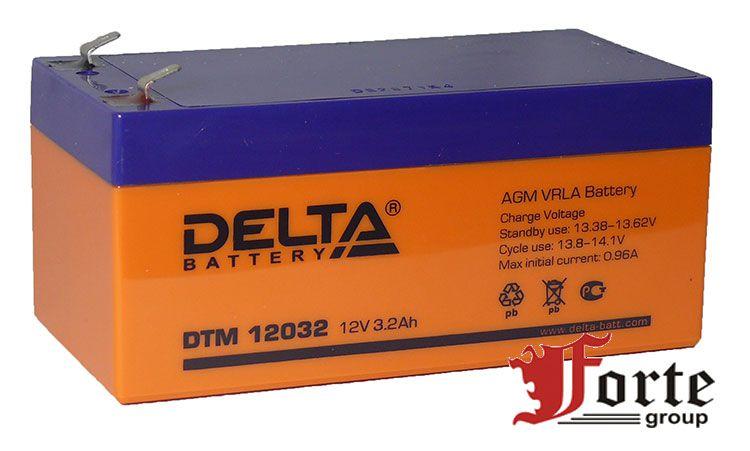 Аккумуляторы Delta DTM 12032