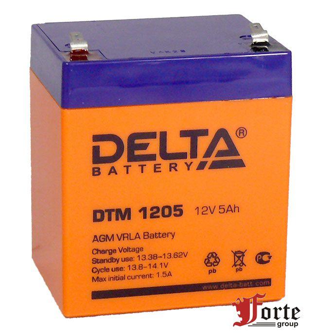 Аккумулятор для ибп (ups) Delta DTM 1205