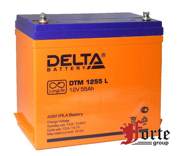 Аккумулятор для ибп (ups) Delta DTM 1255 L