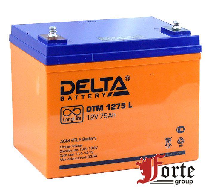 Аккумулятор для ибп (ups) Delta DTM 1275 L