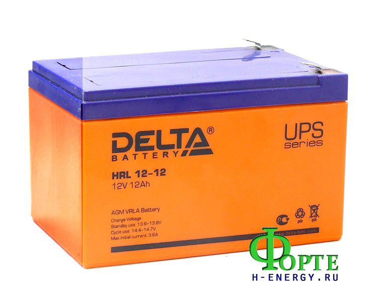 Аккумуляторы для ИБП Delta HRL12-12