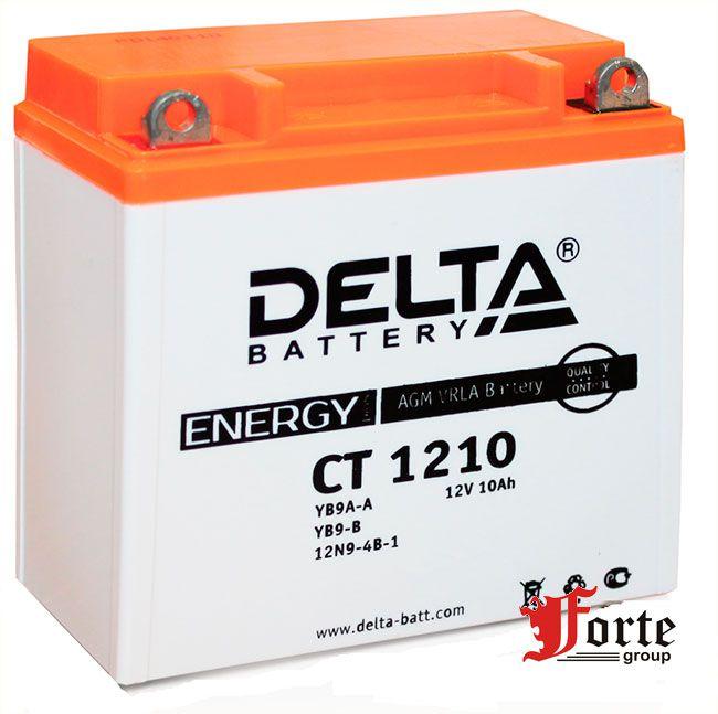 Аккумуляторы для мото. стартерные Delta Battary CT 1210