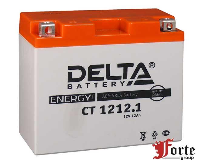 Аккумуляторы для мото стартерные Delta Battary CT 1212.1