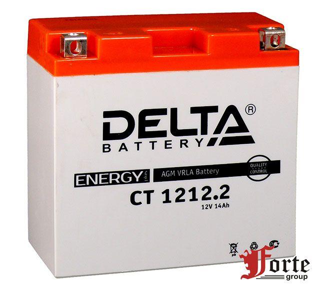 Аккумуляторы для мото стартерные Delta Battary CT 1212.2
