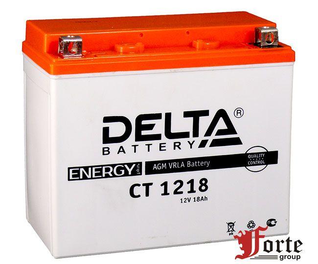 Аккумуляторы для мото стартерные Delta Battary CT 1216.1