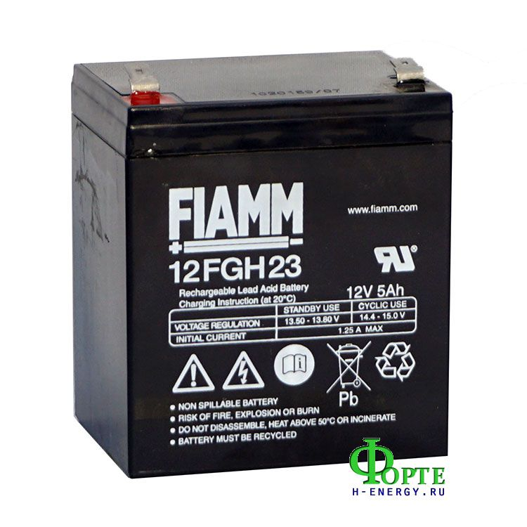Аккумуляторы FIAMM 12FGH23