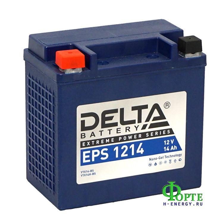 аккумуляторы для генераторов Delta Battary EPS 1214