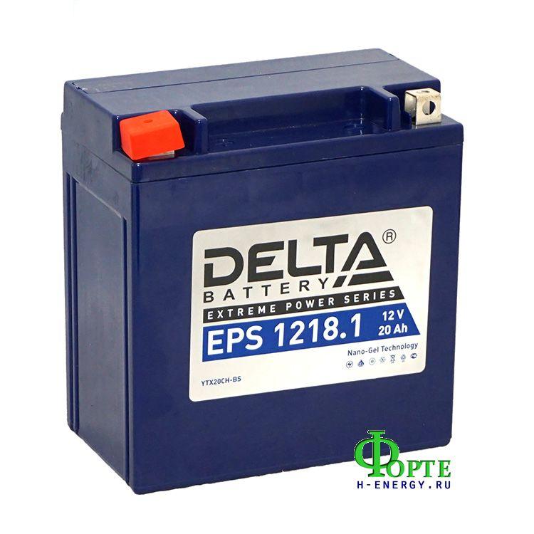 аккумуляторы для генераторов Delta Battary EPS 1218.1