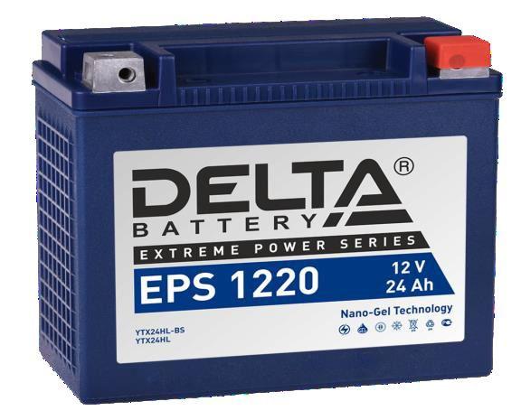 аккумуляторы для генераторов Delta Battary EPS 1220