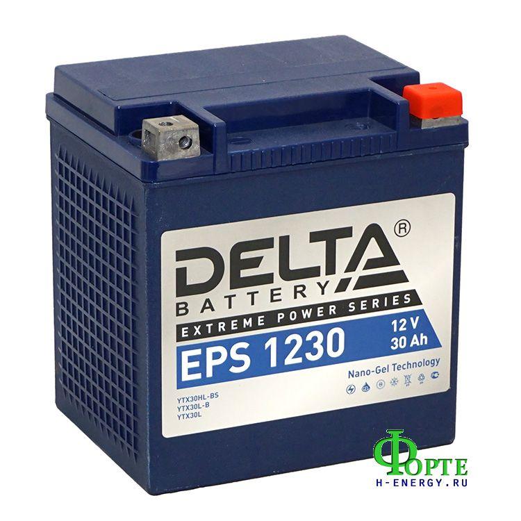 аккумуляторы для генераторов Delta Battary EPS 1230
