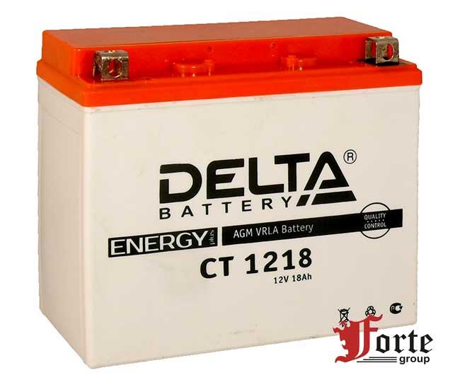 Стартерные аккумуляторы для мото Delta Battary СТ 1218