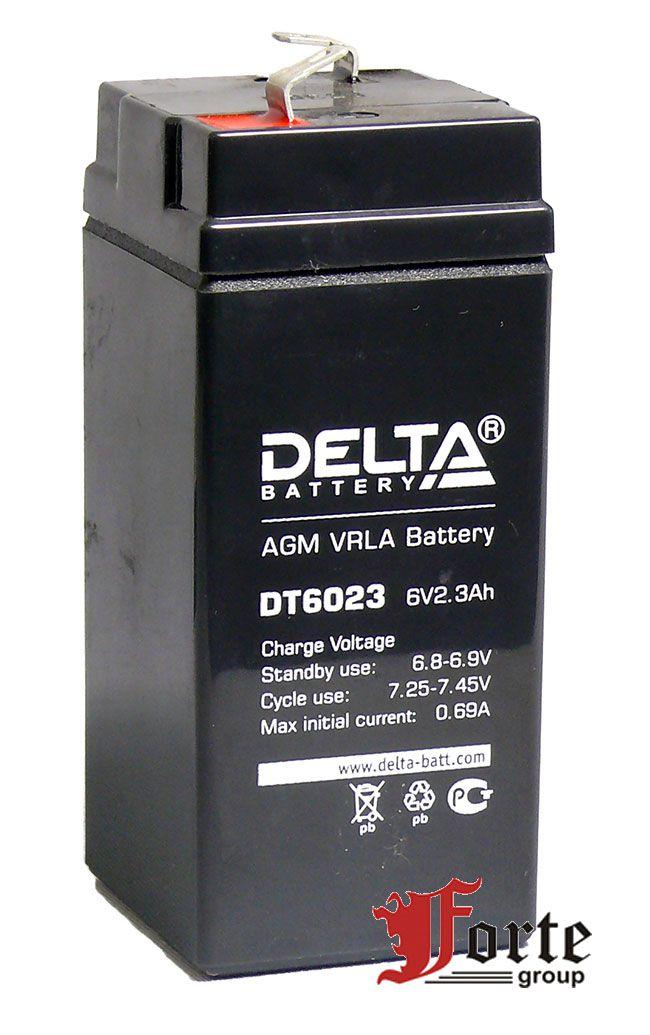 Аккумулятор для фонарей Delta DT 6023