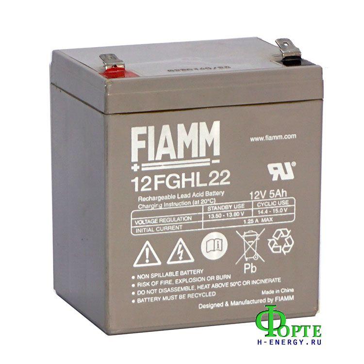 Аккумуляторная батарея для ибп FIAMM 12FGHL22