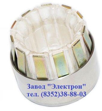 """Контакт """"тюльпан"""" номер чертежа 5КА.551.083 диаметром 36 мм расчитан на ток до 1600А."""