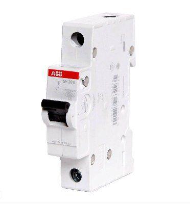 Выключатель автоматический однополюсный 16А С SH201L 4.5кА