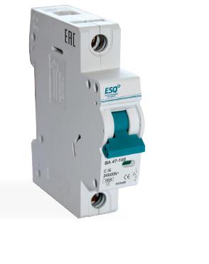 Автоматический выключатель ВА 47-29_1 полюс 32А ток к.з. 4.5кА хар-ка С