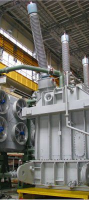 Реактор трехфазный шунтирующий РТМ-100000/110У1