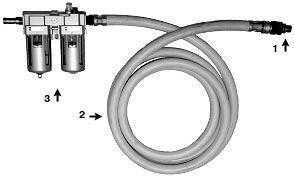 Система подготовки и подвода воздуха СППВ (аксессуар для пневматических машин)