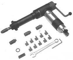 Машина пневматическая ММО-38-100 для удаления алюминиевого оребрения правой навивки на концах труб аппаратов воздушного охлаждения