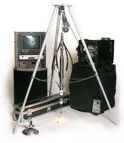 Телеинспекционная перевозимая или встраиваемая в фургон система контроля скважин R-CAM 2000. Контроль скважин глубиной до 1500 м
