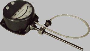 Термометр манометрический конденсационный показывающий сигнализирующий ТКП-160Сг-М2 или ТКП-160 Сг с дл. кап. от 6,0 до 25,0 м