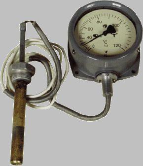 Термометр манометрический конденсационный показывающий ТКП-100