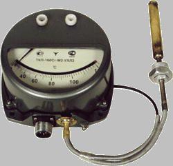 ТКП-100Эк Термометр манометрический конденсационный показывающий электроконтактный