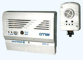 СГГ6М - стационарный сигнализатор горючих газов
