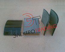 Накладка тормозная для тормоза ТКГ-300, ТКП-300, ТКТ-300 (185х140х10)