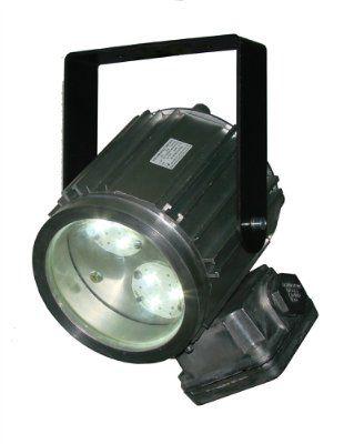 Прожектор светодиодный взрывозащищенный Эмлайт спот ДМ 120 ХБ 30 КР ,1ExdsIICT5, IP65