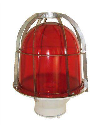 Прибор светосигнальный ЗОМ с решеткой (3ОМ красный)