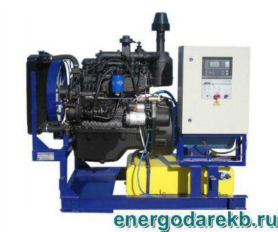 Дизель-генератор (дизельная электростанция) АД-16-Т400-Р (ММЗ) 16 кВт (ДЭС, ДГУ)
