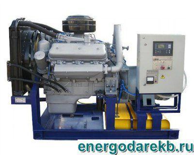 Дизель-генератор (электростанция дизельная) АД-75-Т400-Р (ЯМЗ) 75 кВт (ДЭС, ДГУ)