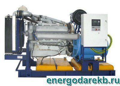 Дизель-генератор (электростанция дизельная) АД-200-Т400-Р (ЯМЗ) 200 кВт (ДЭС, ДГУ)