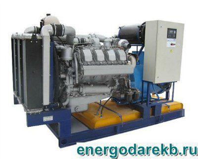 Дизель-генератор (электростанция дизельная) АД-250-Т400-Р (ТМЗ) 250 кВт (ДЭС, ДГУ)