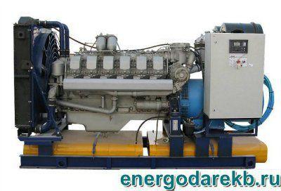 Дизель-генератор (электростанция дизельная) АД-350-Т400-Р (ЯМЗ) 350 кВт (ДЭС, ДГУ)