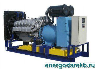 Дизель-генератор (электростанция дизельная) АД-400-Т400-Р (ЯМЗ) 400 кВт (ДЭС, ДГУ)