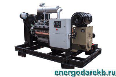 Газопоршневая электростанция ФАС-200-3/Р (200 кВт) ЯМЗ-238