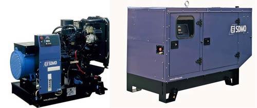 Дизельная электростанция SDMO DX 6000 TE
