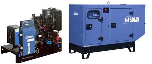 Дизельная электростанция SDMO J 77K 56 кВт (380 В)