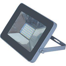 Прожектор LED 50W 220V 2800/4200/6000K IP65 тонкий Серебристо-серый/черный/белый 221x154x20 50Вт