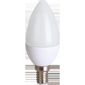 Светодиодная лампа свеча Premium 8W E14 2700K свеча (композит) 100x37