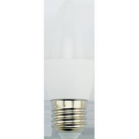 Светодиодная лампа свеча Premium 9W E27 2700K свеча (композит) 100x37