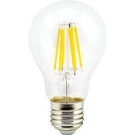 Светодиодный шар classic нитевидный Premium 8,0W A60 220-240V E27 2700K 360° filament прозрачный 105x60