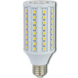 Светодиодная лампа кукуруза Premium 17W E27 2700K 145x60 Ecola ЭКОЛА