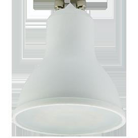Светодиодная лампа рефлектор GU10 5,4W 2800K (композит) 56x50 Ecola ЭКОЛА